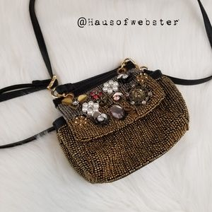 [Free people] NWOT beaded Ashton mini bag